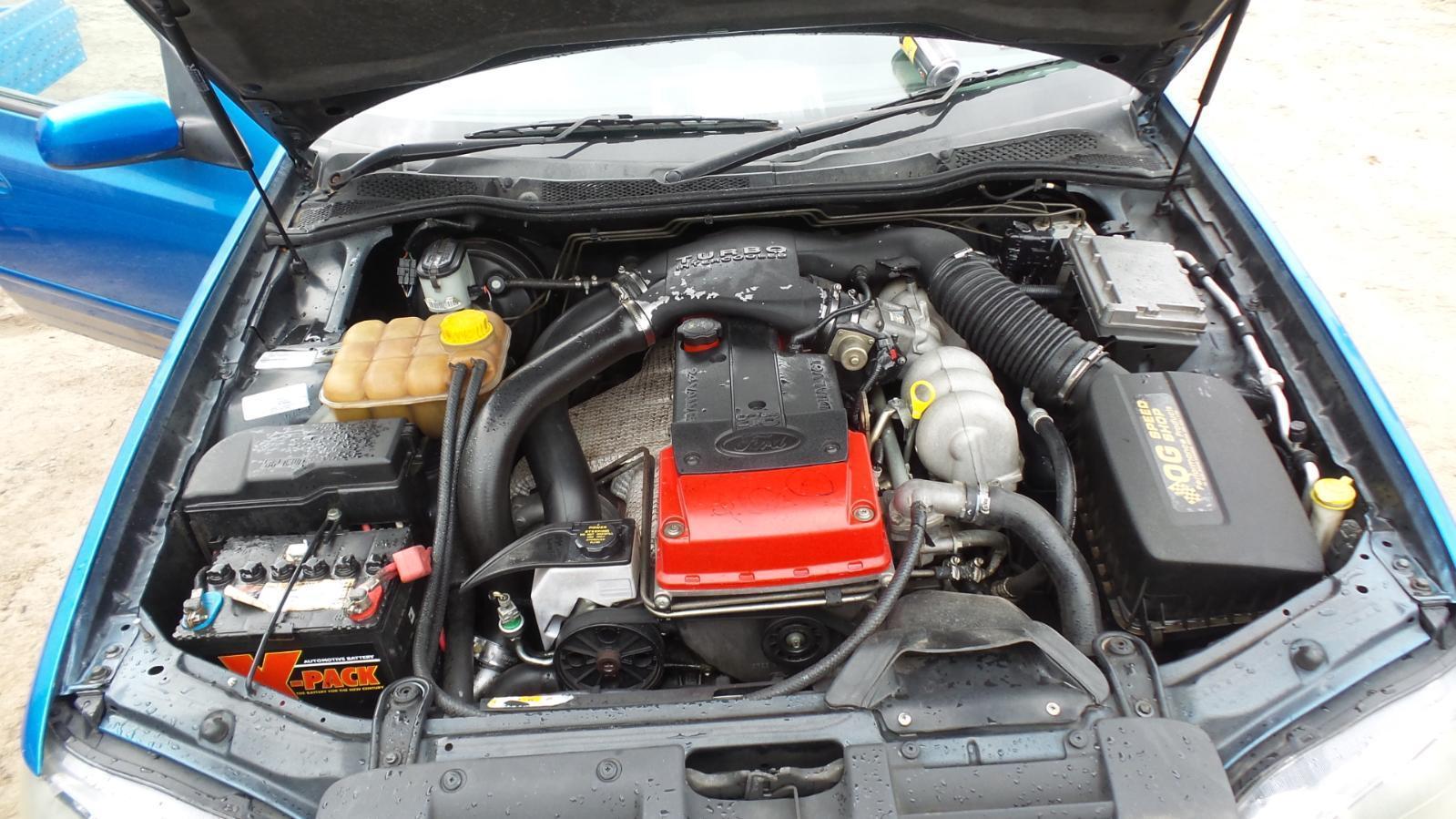 Ford Falcon Engine Ba  4 0 Dohc  Turbo  240kw  W   Turbo